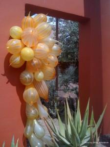 Orange Balloons by Jeffrey Willenbrink