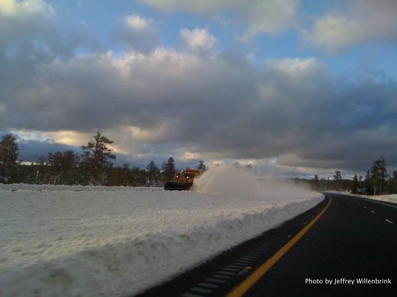 The Snow Plow by Jeffrey Willenbrink